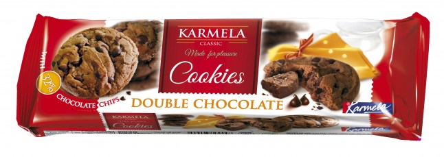 KARMELA COOKIES classic double chocolate